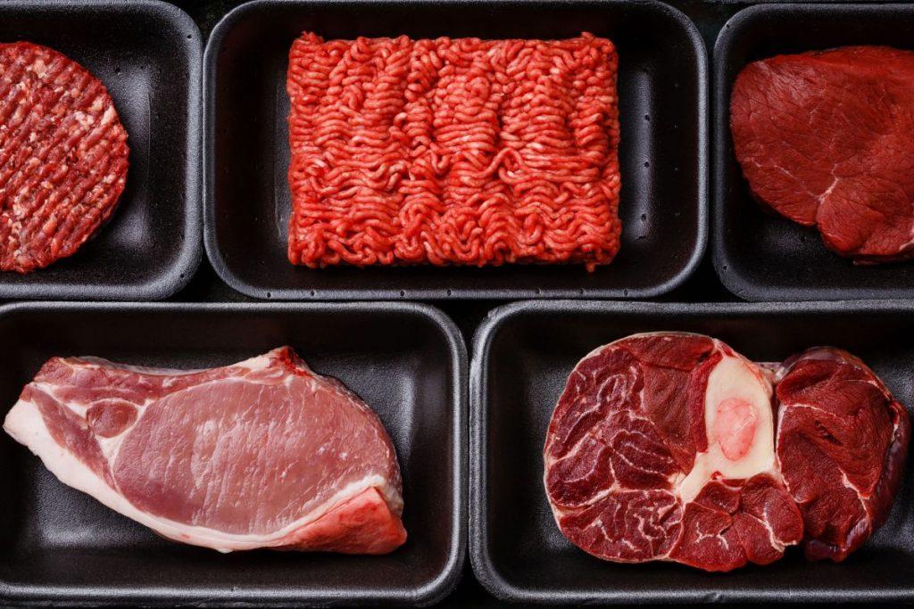 أهمية اللحوم الحمراء
