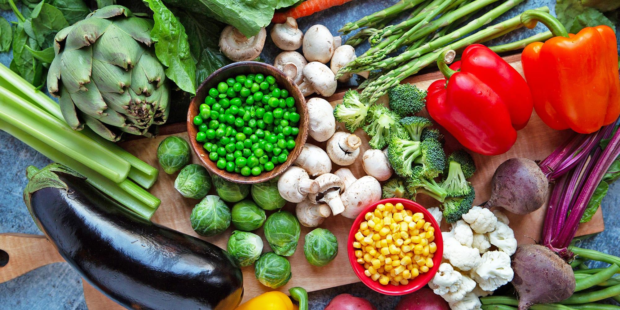 السعرات الحرارية في الخضروات