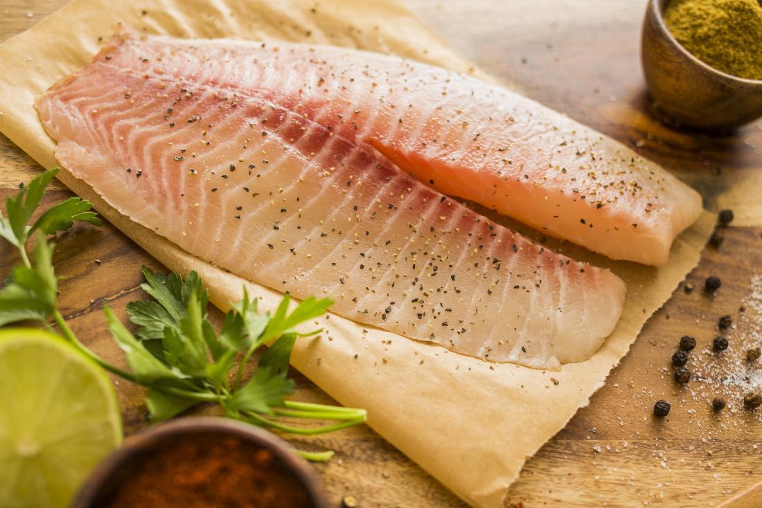 السعرات الحرارية في الأسماك
