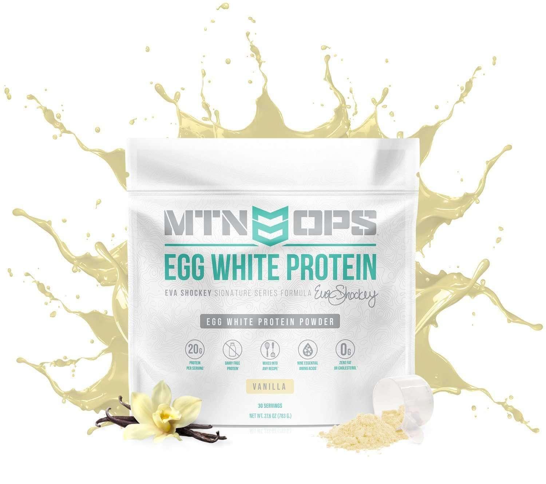 أفضل بروتين لحرق دهون البطن - بروتين بياض البيض