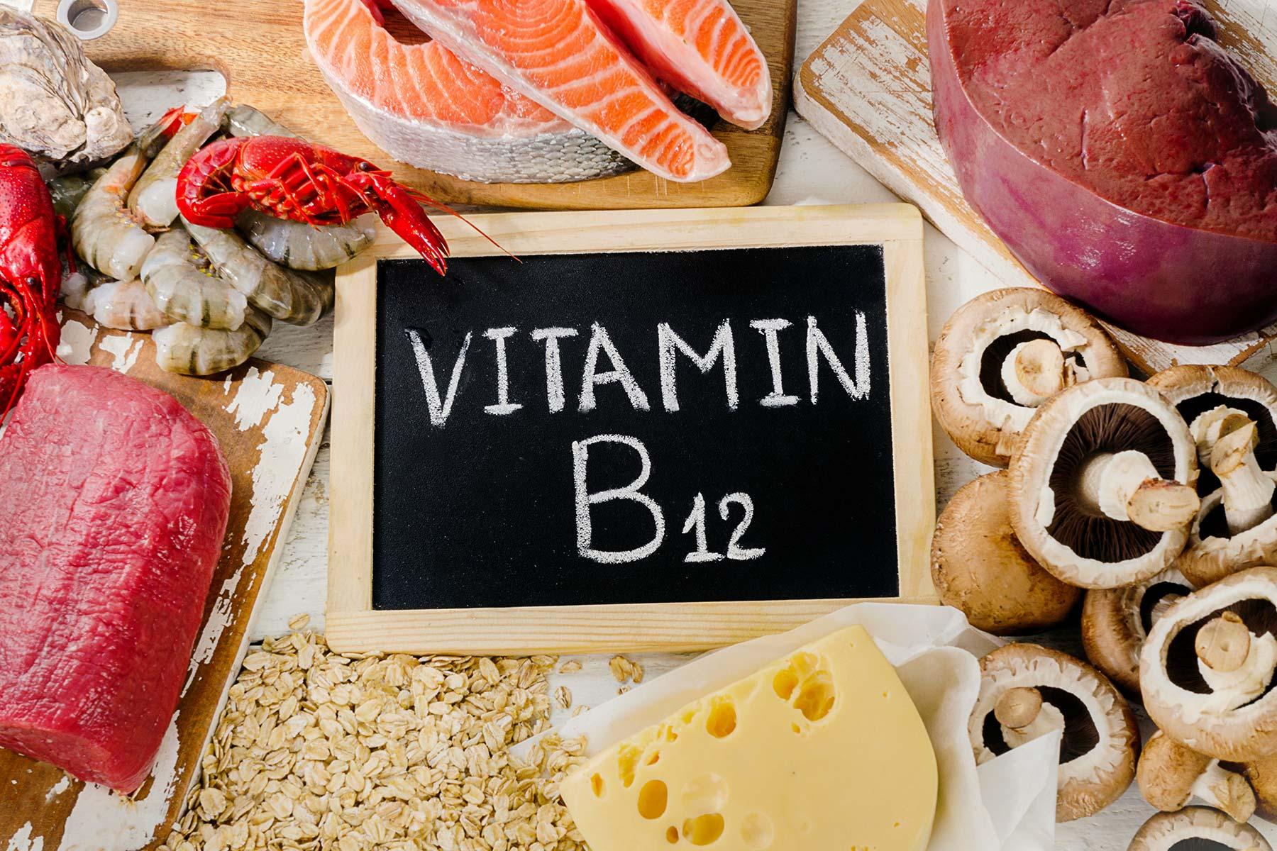 فيتامينات ب12