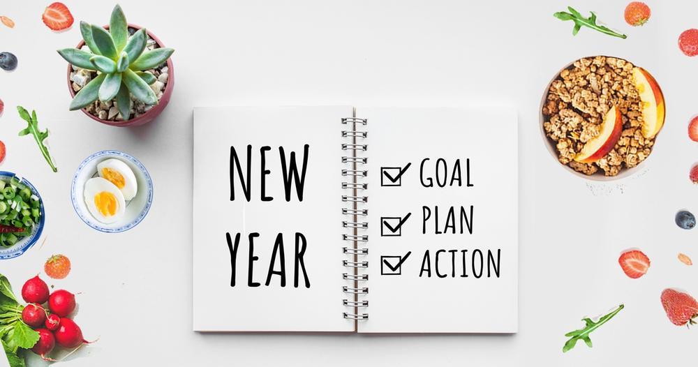 أهداف العام الجديد الصحية