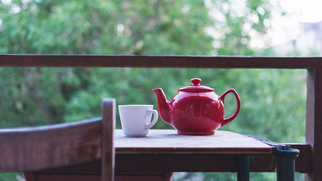 الكافيين في الشاي
