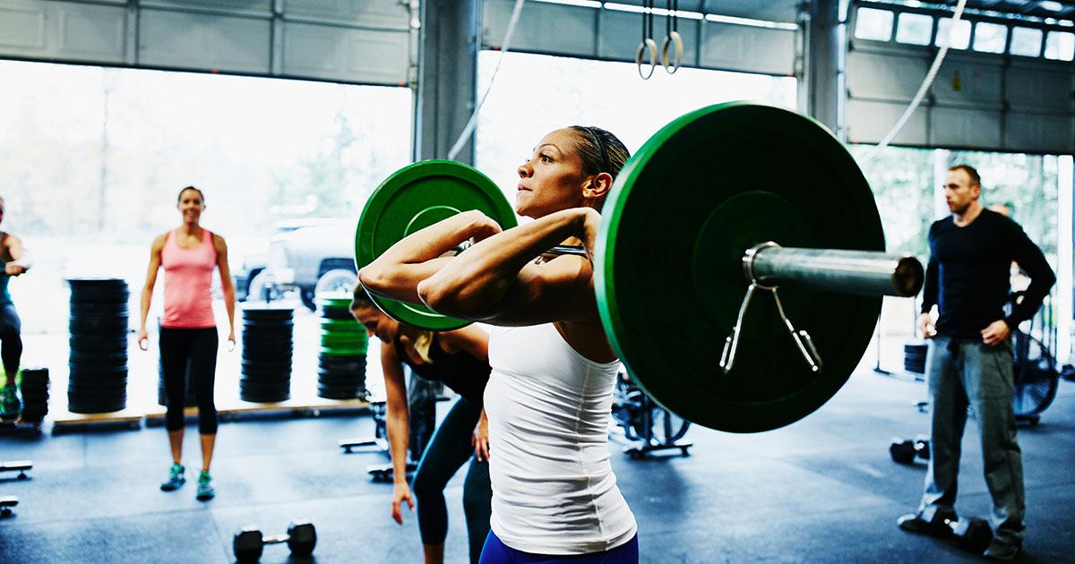 من فوائد رياضة الكروس فيت crossfit اكتساب العضلات