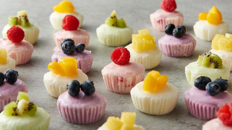 طريقة عمل حلويات بدون سكر زبادي مجمد