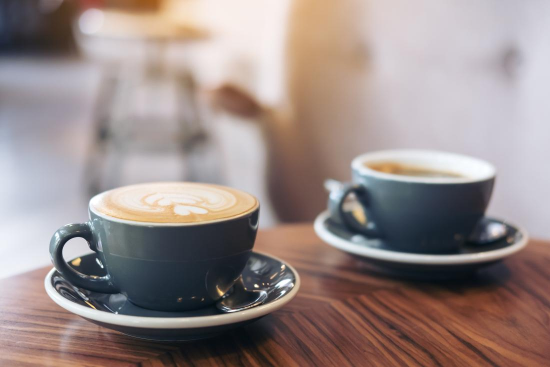 نسبة الكافيين في القهوة بأنواعها