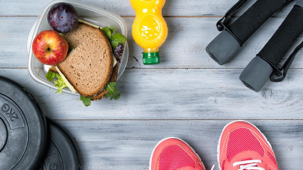 التمرين بدون اكل