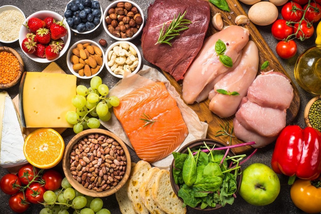 تنظيم الوجبات لزيادة الوزن بنظام الماكروز