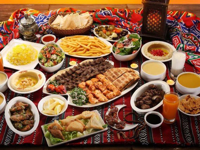 خسارة الدهون في رمضان والعزومات