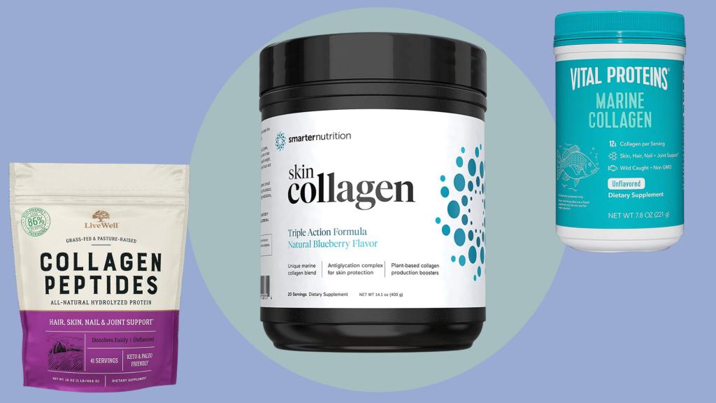 أفضل مكملات البروتين للنساء بروتين الكولاجين
