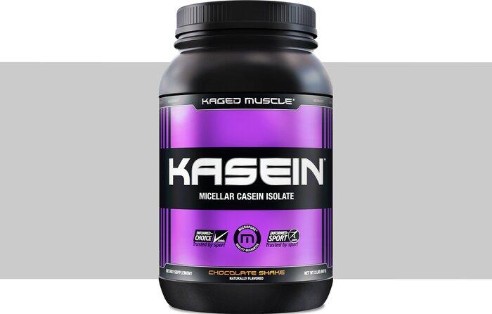 افضل بروتين لبناء العضلات للمبتدئين الكازين