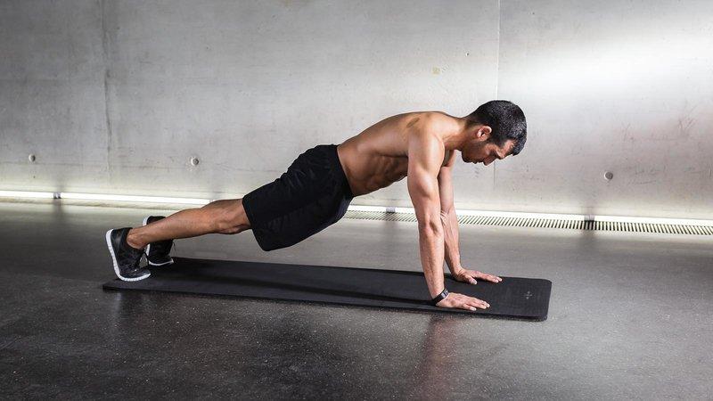 High-plank تمارين الظهر في المنزل