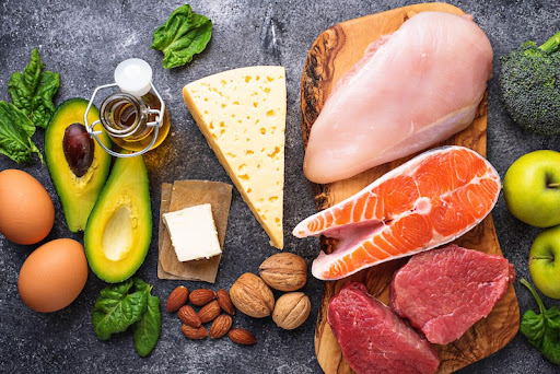 نظام غذائي منخفض الكربوهيدرات عالي الدهون