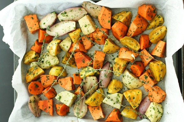 وجبات دايت قليلة السعرات بالخضروات